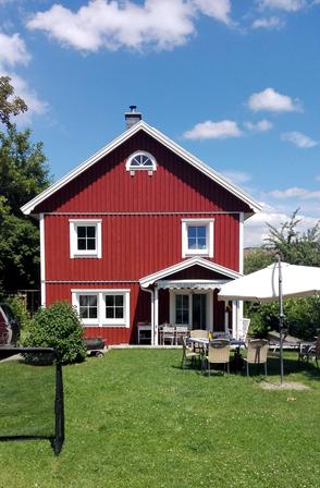zweigeschossiges Schwedenhaus Nordkap mit Terrasse