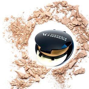 2in1 puder foundation, Schminkprodukt, viktoria georgina, beauty in zürich, cruelty free makeup