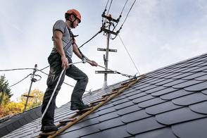 Dachdecker und Schräge Flächen