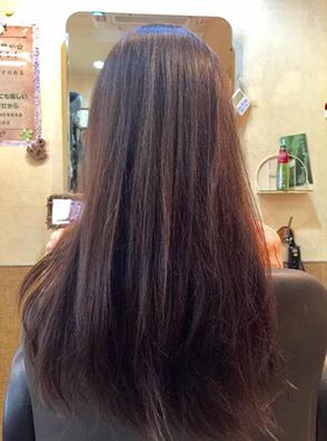 髪のパサつき広がりが治まる100%天然植物ヘナ