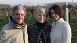 Davide en Maura Zucchi, met hun dochter Silvia.