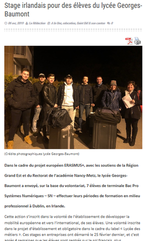 Article du 06 avril 2019