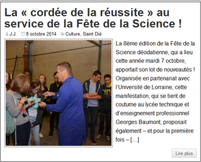 Article du 8 Octobre 2014