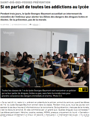 Article du 18 Avril 2018