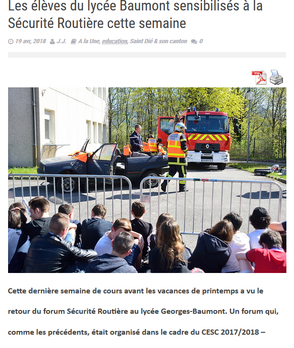 Article du 19 Avril 2018