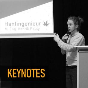 Keynotes von Hanfingenieur Henrik Pauly