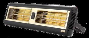 TANSUN MONACO 2x1,5 kW Infrarot Terrassenheizung