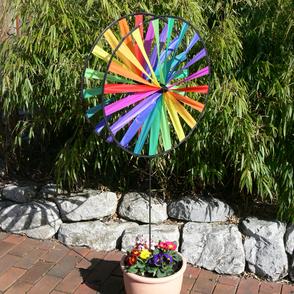 Windspiele & Windräder aus Stoff für Garten und Balkon
