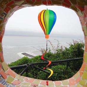 Windspiele & Windräder aus Stoff zum hängen für Garten und Balkon