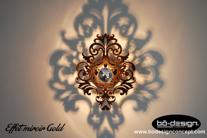 applique murale effet miroir - LUMINAIRE DESIGN - APPLIQUE MURALE ...