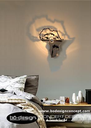 afrique,africa,déco afrique,applique murale design,luminaire design,luminaire etnique,décoration afrique,applique design,décoration design,déco elephant,déco lion,girafe,singe,carte de l'afrique,luminaire,applique murale,luminaire contemporain