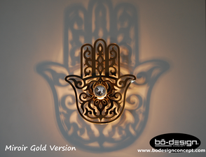Applique murale effet miroir luminaire design applique murale