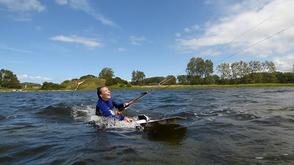 Kitesurfen lernen mit Spaß an der Ostsee in deiner VDWS Kiteschule Oceanblue Watersports in Rerik am Salzhaff