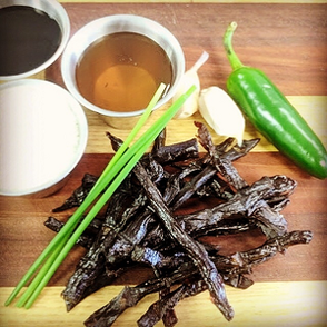 sweet and chewy beef jerky
