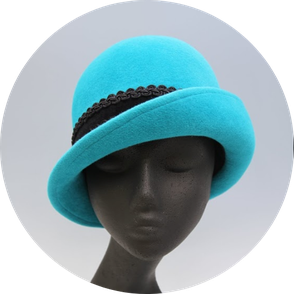 帽子の学校サロン・ド・シャポー学院  帽子作り 作品 2・3年