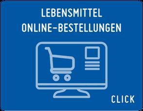 Lebensmittel Online-Bestellungen