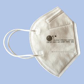 Medizinische, CE-zertifizierte Atemschutzmasken Typ FFP2 KN95, EN149:2001