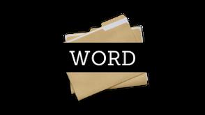 Anleitung für Word