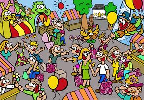 Van Bun Communicatie & Vormgeving - Internetgazet Lommel - Illustraties - Tekeningen - Grafisch ontwerp - Publiciteit - Reclame - Lente Deals Bruisend Lommel
