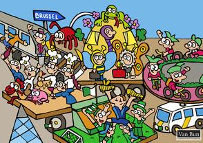 Van Bun Communicatie & Vormgeving - Internetgazet Lommel - Illustraties - Tekeningen - Grafisch ontwerp - Publiciteit - Reclame - Carnaval