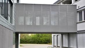 Fassade Metallbau Raiffeisenbank Kölliken
