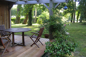 Holzterrasse von Schreinerei Mößmer