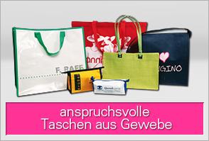 Stofftaschen /  Werbetaschen aus Gewebe
