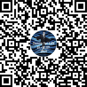 QR-Code für die Doku-Website von DENIM FOR LIFE