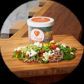 Avocado-Feta Quinoa - knackig, nussig, frisch