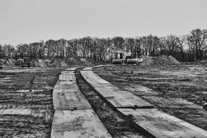 Hockensberg, Jürgen Deinert, Bauarbeiten