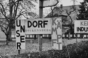Hockensberg, Jürgen Deinert, Plakate