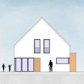 Neubau Einfamilienhaus LB