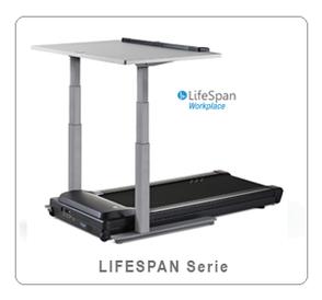 Button als Bild - Abbildung Laufbandschreibtisch LifeSpan  zur Übersichtsseitecht