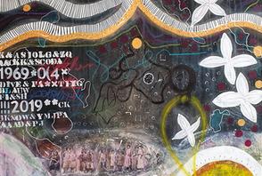 Artigkeit, Claudia Karrasch, Bonn, Kunst, Studio, malen, Acryl, Abstrakte Malerei, Mischtechniken, Infos