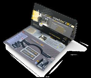 Abbildung: crawlster®4Wd Produktverpackung