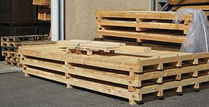 Palettenbau / Sonderpaletten auch speziell für den Export von Schwerlastgütern
