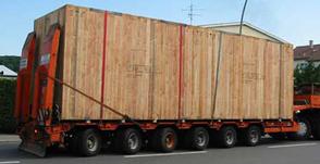 Schwergutkisten für LKW-Transport, Schwergut ab ca. 5 Tonnen bis ca. 80 Tonnen