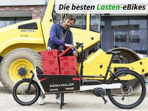 Lasten e-Bike Testsieger