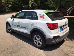 Bergsicherung mit VW Tiguan