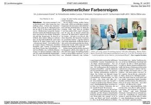 Presseartikel Süddeutsche Zeitung vom 18.07.2011