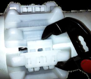 KEBI RACI Gleitkufe A B sind mit Wasserpumpenzange zu verwenden