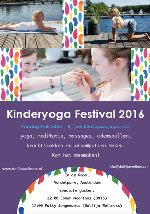 Kinderyogafestival Amsterdam Zuid