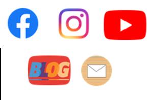 Logos der Sozialen Medien