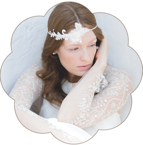 Brauthaarschmuck Haarband, Haarreifen und Haarkränze für die Braut
