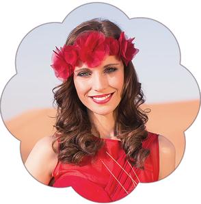 Haarkranz Seidenblüten. Haarband für die Braut, Tracht, Oktoberfest, Sommer Party. Blütenpracht!