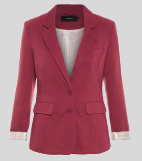 Smart Casual Blazer aus Jersey oder Sweat