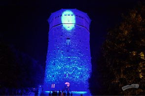 Der Wasserturm Hannover, Dark Tower Party vol. 6 / Foto: Dunkelklaus