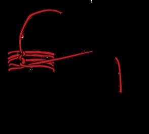 パイプへのロープの縛り方12