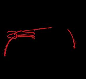 パイプへのロープの縛り方4