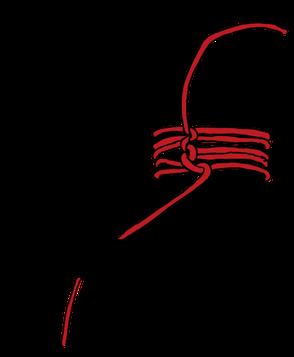 パイプへのロープの縛り方13